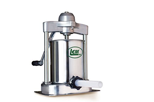 LEM Products 1607 15-Pound Stainless Steel Vertical Sausage Stuffer