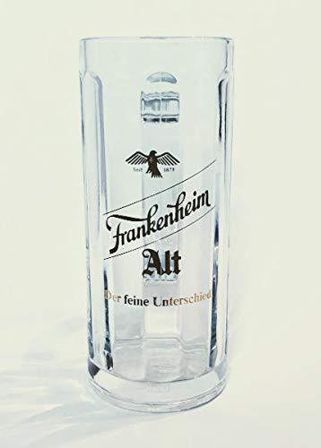 Frankenheim 0,4l Glas / Bierkrug / Bierglas / Bier / Altbier / Glas / Bar / Gastro / 1 Stück
