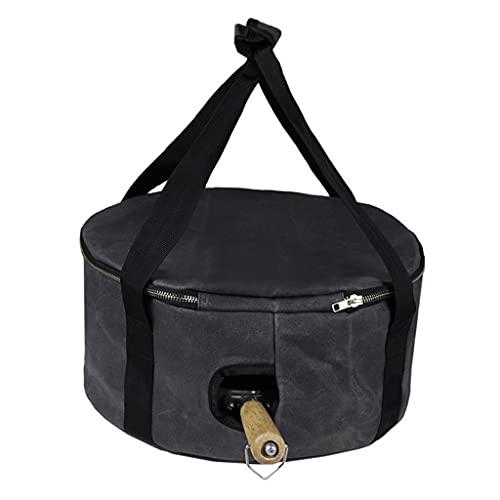 HUIJUAN Hornillo de gas para camping al aire libre, bolsa de picnic, cesta de picnic, resistente al agua, gran capacidad,