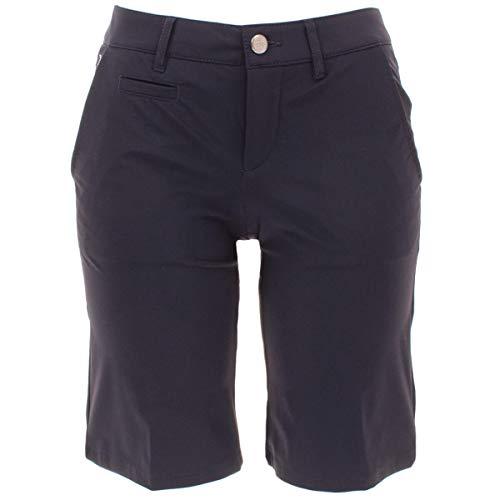 ALBERTO Damen Golfhose Golf Bermuda Shorts Audrey-K 3xDry in Blau/Dunkelblau Größe 40