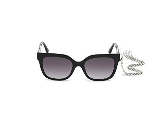 Guess gafas de sol GU7691 01B gafas de sol de las Mujeres de color Negro de la lente de humo de tamaño de 54 mm