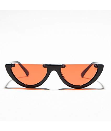 Sesamall Gafas de sol para mujer unisex aviator redondas ojos de gato
