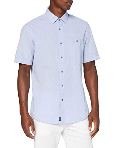 Pierre Cardin Casual, Airtouch Hemd in Modern Fit Camisa, Az