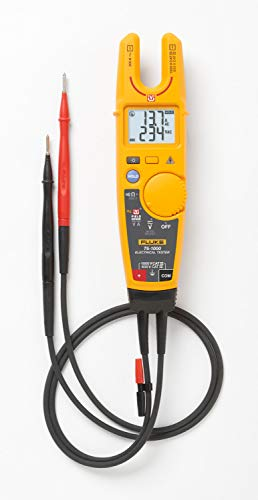 Elektrotester Fluke T6-1000, mit FieldSense-Technologie für Wechselspannungs-, Wechselstrom- und Frequenzmessungen, ohne mit Messleitungen einen Kontakt zu spannungsführenden Punkten herzustellen