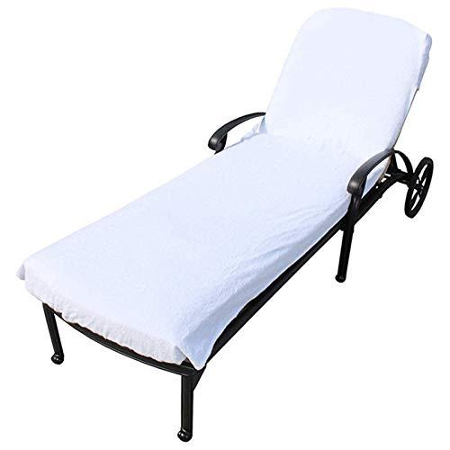 unknow Sawyerda - Funda para tumbona reclinable con bolsillo lateral para almacenamiento de protección solar del teléfono