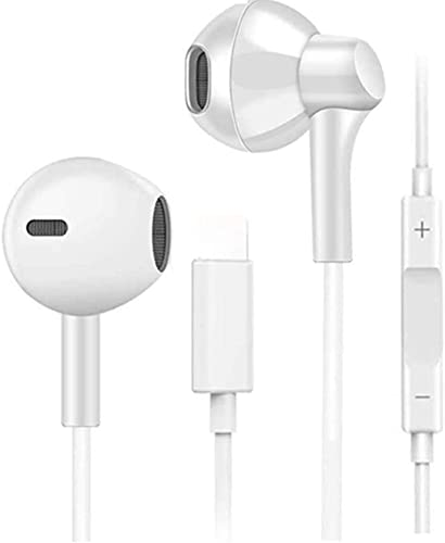 Wired Headphones Earphones Earbuds for iPhone 7 8, YUEMIDANY EarbudsWired Compatible with iPhone Xs/XS Max/XR/X/8Plus/7Plus,Earbuds Headphones Headset with Microphone Noise CancellingEarbuds