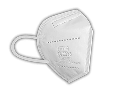 PROTECH Mascherine FFP2 MADE IN ITALY Certificate CE 2233 Categoria DPI: III, conformi EN 149:2001 + A1:2009. Box da 10 pezzi confezionate singolarmente