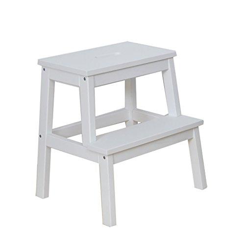 Tabouret carré d'escalier en bois solide/tabouret d'utilisation adulte/tabouret portatif/changement tabouret 43 * 38 * 46.5CM chaises pliantes d'intérieur