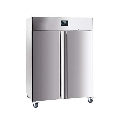 Armoire réfrigérée négative Froid Ventilé - 1400 L - L2G - R290 2 Portes Pleine