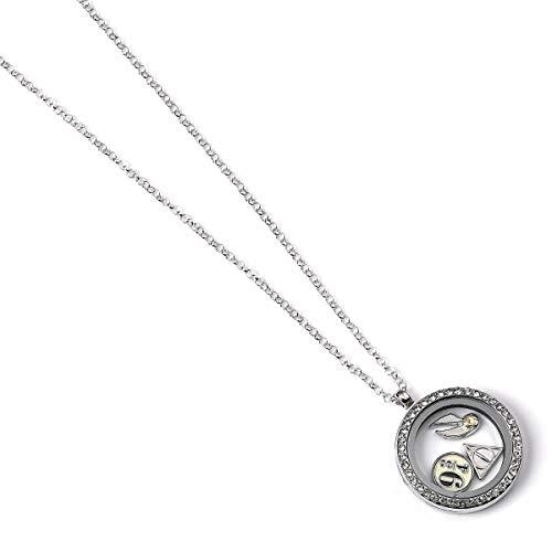 Collar oficial de Harry Potter con medallón flotante de The Carat Shop