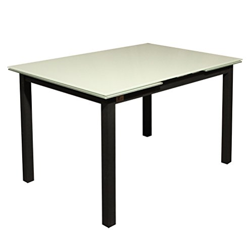Amazon.es: Habitdesign 004580BO - Mesa de comedor extensible