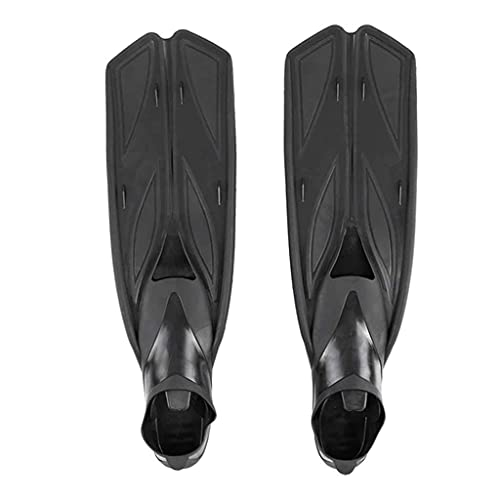 Sgxiyue Scuba Diving Flippers for Swimming Adult Fins Swimming Shoes Diving Fins Water Shoes for Swimming Underwater Sports Adult (Color : Black, Size : Small-S)