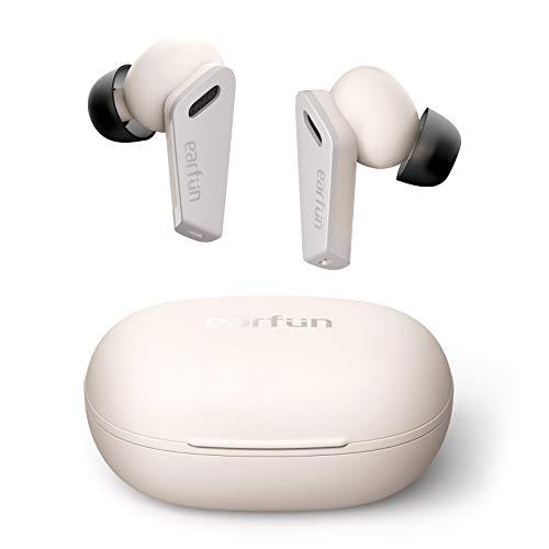 EarFun Air Pro Bluetooth Kopfhörer In Ear mit Hybrid Active Noise Canceling, Wireless Kopfhörer mit 6 Mikrofonen, Stereo-Tiefbass, 32 Std. Spielzeit mit USB-C Quick Charge, IPX5 Wasserdicht