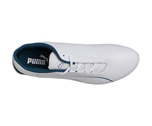PUMA Mercedes AMG Petronas Future Cat Sneaker Puma White-Blue Coral UK 8_Adults_FR 42