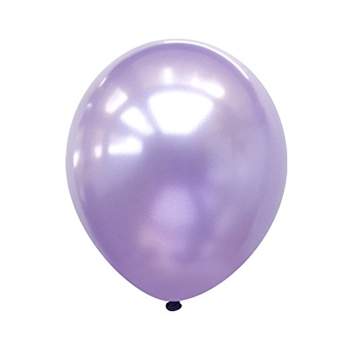 Neo LOONS® 5' Pearl Light Lavender Premium Latex Balloons -- Great for Kids , Adult Birthdays, Weddings , Receptions, Baby Showers, Water Fights, or Any Celebration, Pack of 100