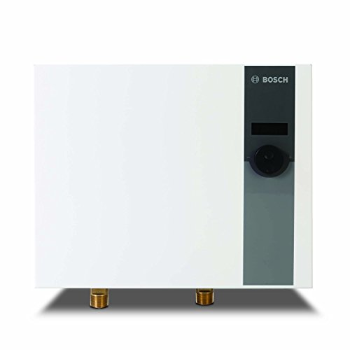 Bosch Thermotechnology - WH27 Tronic 6000 C Electric Tankless Water Heater - Eliminate Time for Hot Water - Easy Installation 26.9 kW
