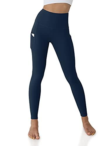 ODODOS Women's High Waisted Yoga Leggings with Pockets,...