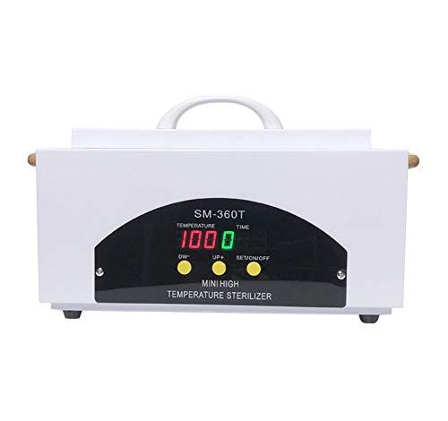 XLH Hochtemperatur-Tool Sterilisator Reiniger für Maniküre Pedicure Werkzeug Schere Desinfektion Kabinett Dentistry Spa Beauty-Salon-Ausrüstung mit Timing-Funktion