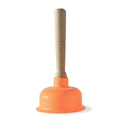 Design für alle Fälle – Saugglocke Ausgussreiniger Abflussreiniger für Bad, Küche, Dusche und Toilette – Edel, hochwertig, funktional, vorzeigbar - Made in Italy (Klein)
