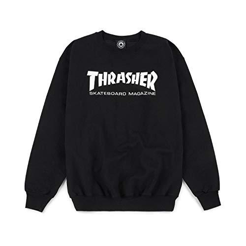 Thrasher Magazine - Felpe Skatemag Crewneck - Black - XL
