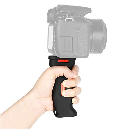 UURig Handheld Grip 1/4' Screw for Camera Stabilizer Smartphone Handy Grip Tripod System Compatible with GoPro Action Cam Canon Nikon Sony Digital Camera Mobile Video Shooting Vlog Camcorder - R003