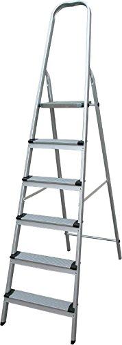 Escalera de aluminio 6 peldaños