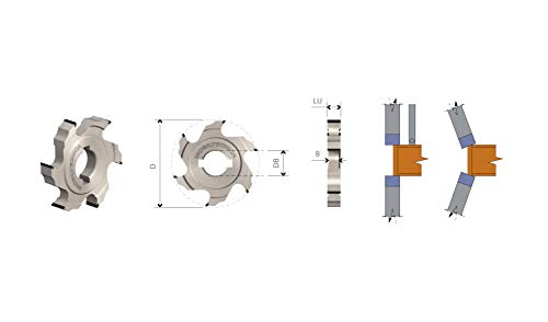 FRESE BORDATRICI PER REFILARE - MOBILTECNICA _ .2_D70 | LU10 | ZTOT4 | DB16+2 DKN | AX0° | DX / SX | H4,5