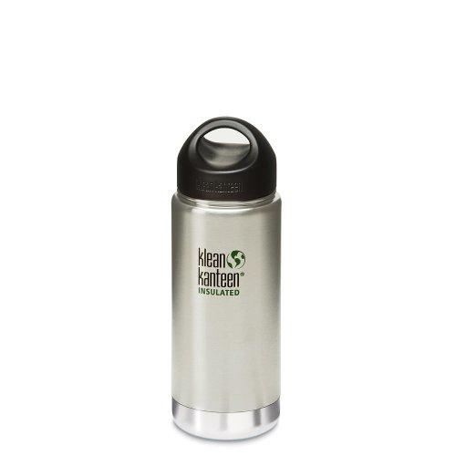 Klean Kanteen Edelstahlflasche Flasche Insulated, Silber, 0.473 Liter, 100635