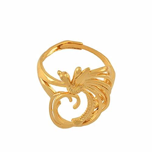 UCJHXFR Anillo de perlas para mujer, diseño de pájaro, regalo de boda # 136106