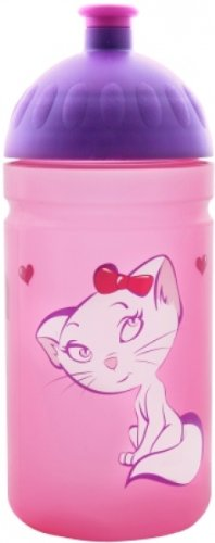 FreeWater Trinkflasche Flasche Katze rosa 0,5 l