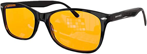Product Image 1: Swanwick: Classic Night Swannies – Premium Blue Light Blocking Glasses