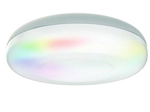jedi lighting iDual, Acryl, weiß, 34 x 34 x 10 cm