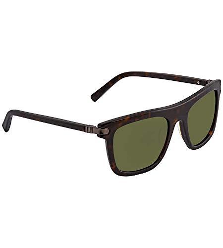 Ferragamo SF785S Cateye Sonnenbrille 52, Schwarz