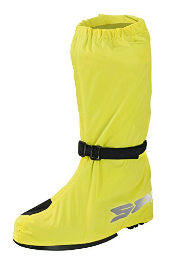 SPIDI Cubierta Impermeable para Botas de Moto, Amarillo, XL