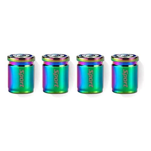 Lisa Bluebell - Tappo per valvola antifurto, universale, in metallo, per valvola, coprivalvola (multicolore)