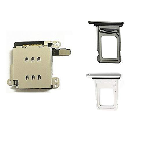 Cable Flexible para Lector de Tarjetas SIM Doble + Ranura para Tarjeta SIM para iPhone XR, Color Negro