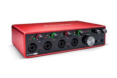 Focusrite Scarlett 18i8 18x8 USB Audio Interface 3rd Gen for Producers/Bands...