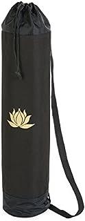 YogaStudio - Bolsa para alfombra de yoga, diseño de loto (ideal para alfombra muy gruesa de tamaño estándar)