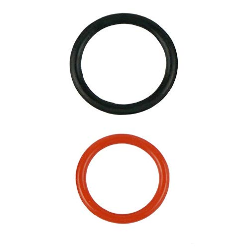 Power Steering Pump Rubber Inlet & Outlet O-Ring Seals 91345-RDA-A01 / 91370-SV4-000 Fit for HONDA P/S Hi Pressure Hose 2 pc Kit