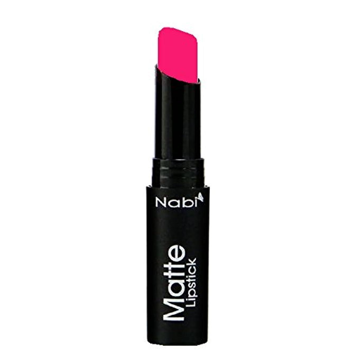 机肉懇願する(3 Pack) Nabi Cosmetics Matte Lipstick - Matte Punch (並行輸入品)