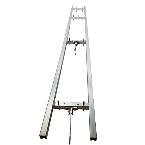 RCTEC 12 FT Rail Mill Guide System 4 Crossbar Kits Work with Chainsaw Mill
