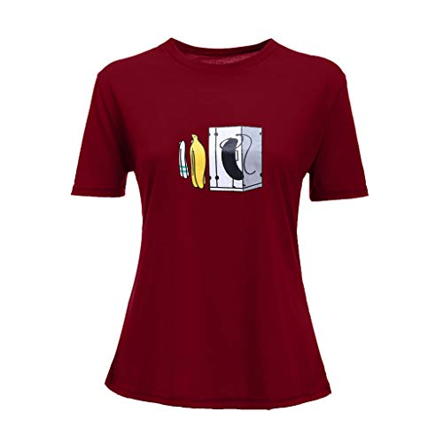 Tosonse T-Shirt Donna Cool Top Canotta Camicie Camicie Tour Concerto Stampa Girocollo Manica Corta Tee Tunica