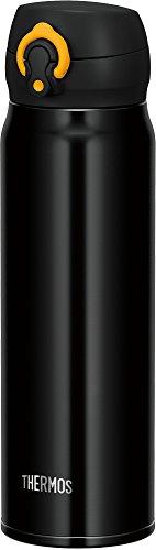 サーモス 水筒 真空断熱ケータイマグ 【ワンタッチオープンタイプ】 600ml ブラックイエロー JNL-603 BKY