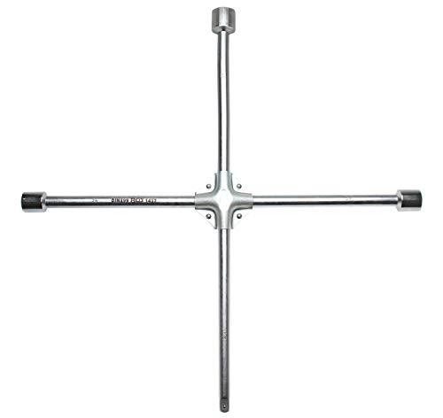 BGS 1457 | LKW-Radkreuz | Vierkant | SW 24 x 27 x 32 x 20 mm (3/4
