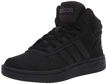 adidas Men s Hoops 2.0 MID Sneaker core Black/core Black/Grey Six 11 M US