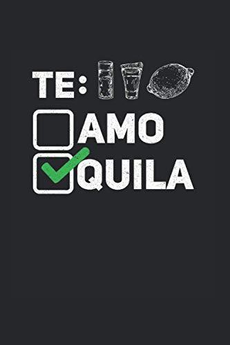 Tequila: Din A5 Zitrone Notizbuch Salz Geschenk mit 120 Seiten