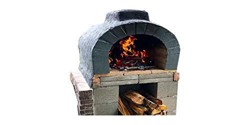 Brick Oven Plans DIY Outdoor Cooking Pizza Patio Party Ribs Backyard Woodfired