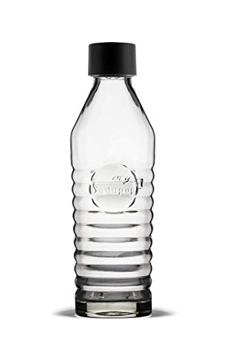 mySodapop A252212 Glasflasche (850 ml) für Sharon Up, Glas, Klar