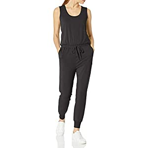 Amazon Essentials Women's Studio Terry Fleece Jumpsuit