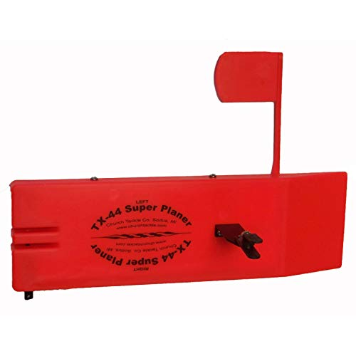 Church Tackle TX-44 Super Planer Board, Red